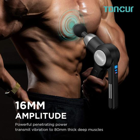 历史新低!ABOX Toncur 深层肌肉放松 双手柄筋膜枪/按摩枪4.6折 69.99加元包邮!免税!