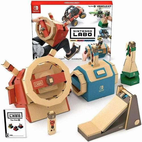 任天堂Nintendo Labo: Vehicle Kit 载具套装 6.7折 59.99加元,原价 89.99加元,包邮