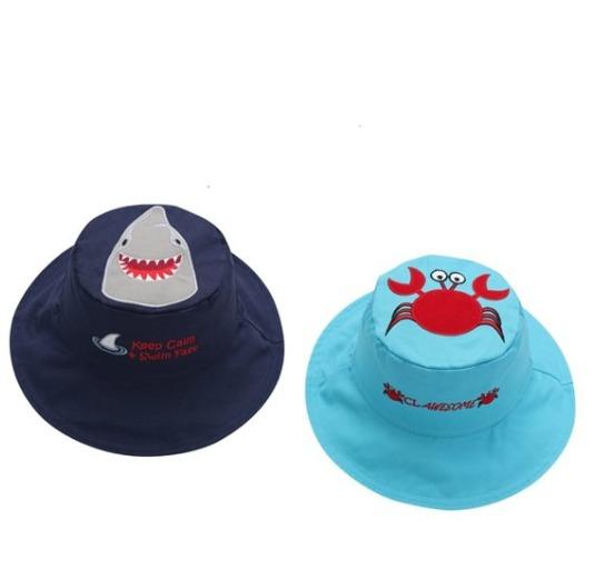 FlapjackKids 婴幼儿女童防晒卡通双面太阳帽3.1折 4.5加元起