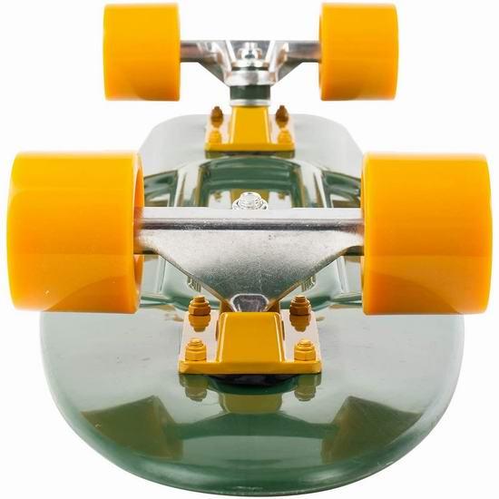 销量冠军!Retrospec Quip Skateboard 经典复古 迷你滑板 31.5加元起!6色可选!
