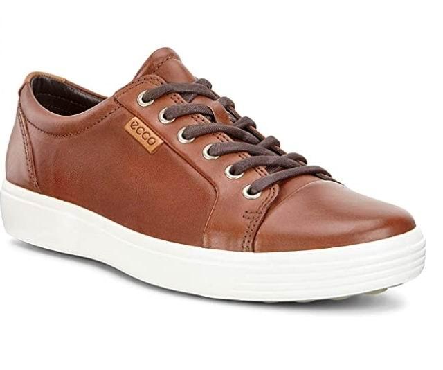 ECCO Soft 7男士系带休闲鞋 90.97加元(6-6.5码),原价 210加元,包邮