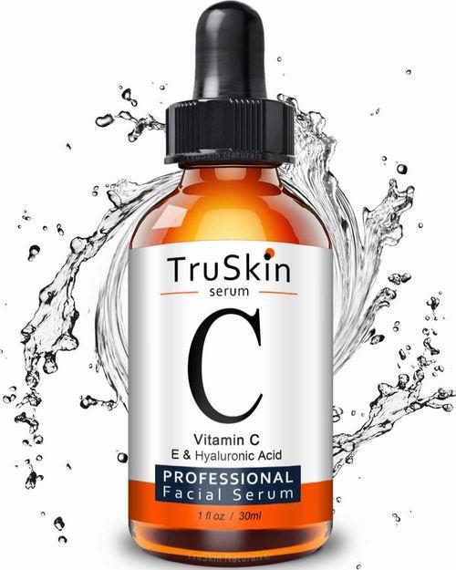 TruSkin天然有机维生素C面部精华 含玻尿酸和维生素 E 30毫升 17.75加元,原价 29.95加元