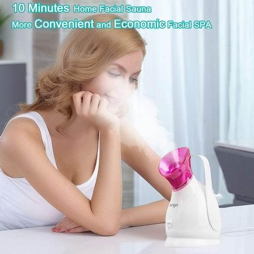 KINGA纳米温雾面部保湿补水蒸脸器+去黑头粉刺工具5件套 6.7折 39.99加元,原价 59.99加元,包邮