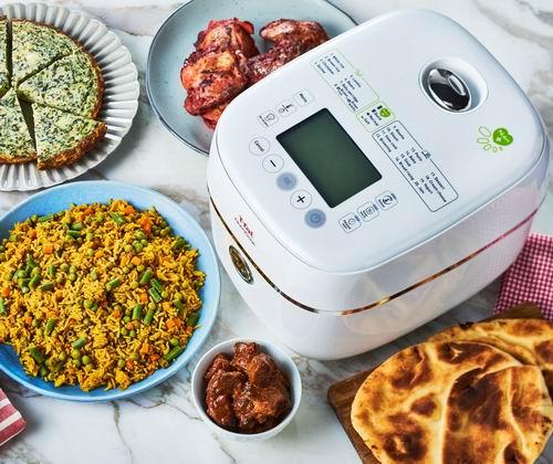 T-fal RK900151 多功能全营养电饭煲 4折 99.97加元,原价 249.97加元,包邮