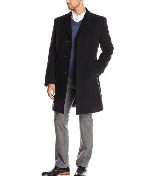 Tommy Hilfiger Barnes 男士70%羊毛+10%羊绒混纺大衣 104.61加元(40),原价 320.23加元,包邮