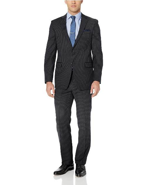 Tommy Hilfiger Modern男士52%羊毛混纺西装套装 111.65加元(38 Short),原价 311.4加元