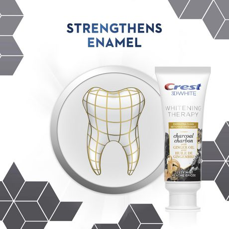 Crest 天然活性炭美白牙膏  3加元