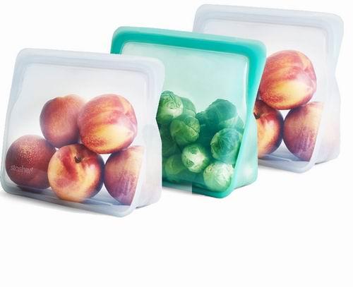 Stasher 环保耐热食物矽胶密封袋/储物袋 7.5折 11.25加元起特卖