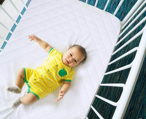 Utopia Bedding 防水婴儿床床垫保护罩2件套 21.99加元