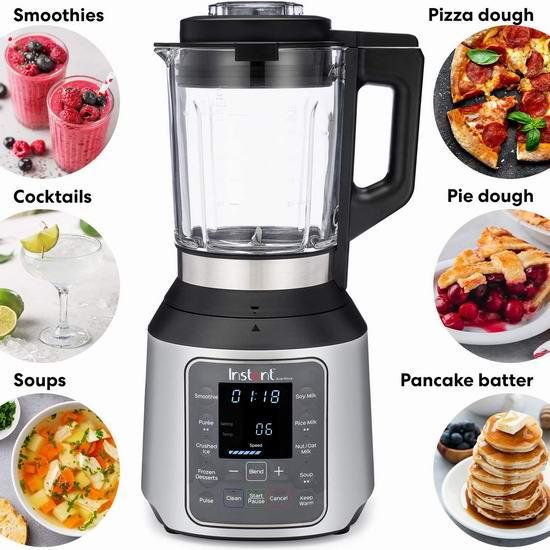 历史新低!Instant Pot Ace Nova 多功能破壁料理机 109.99加元包邮!可以熬浓汤、做豆浆!