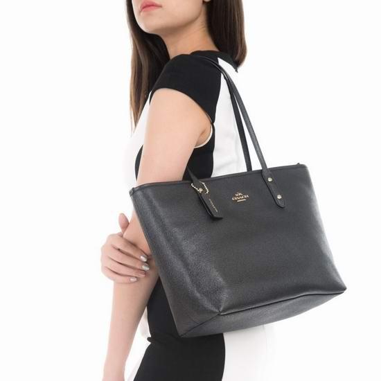 最后一天!Coach Outlet精选时尚手袋、挎包、链条包、腰包等全部低于89.1美元+包邮!封面款71.1美元!