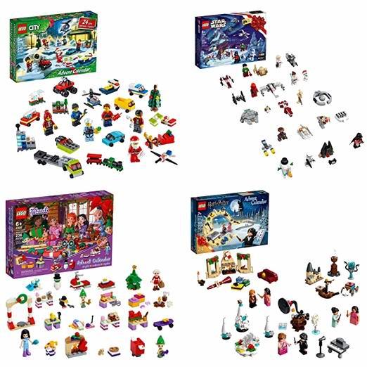 新品:精选4款 Lego 乐高 圣诞倒数日历积木套装 39.86-49.99加元包邮!