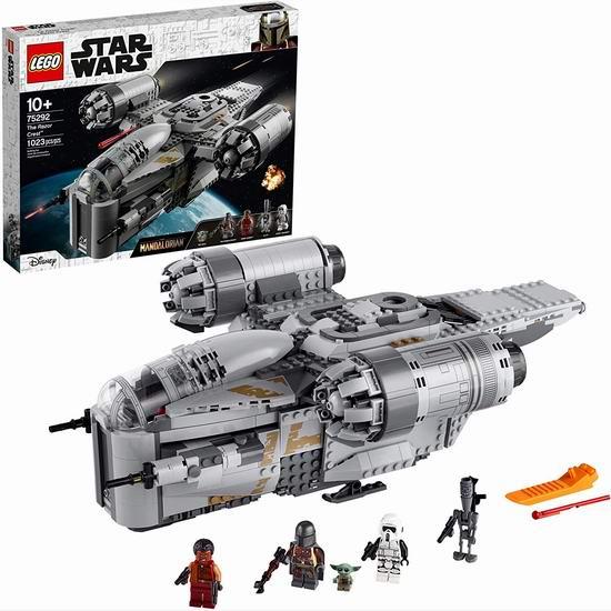 新品 LEGO 乐高 75292 星球大战 Razor Crest 剃刀冠号(1023pcs) 159.99加元包邮!