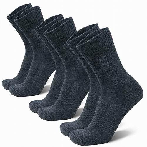 金盒头条:DANISH ENDURANCE 丹麦美利奴羊毛户外袜/登山袜 3双 8折 23.95加元,3款可选