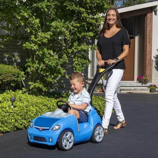 Step2 Whisper Ride II 幼儿小汽车/散步手推车7.3折 79.97加元包邮!