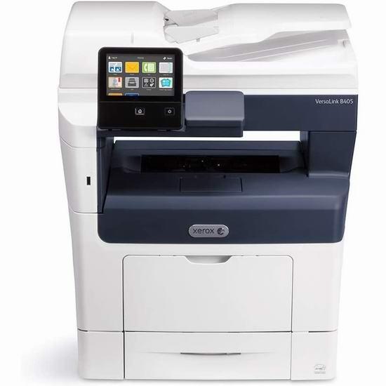 历史新低!Xerox 施乐 B405/DN 商用级 多功能一体 黑白激光打印机2.6折 301.99加元包邮!