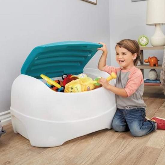 历史新低!Little Tikes 小泰克 Play N Store 儿童玩具收纳箱 59.99加元包邮!