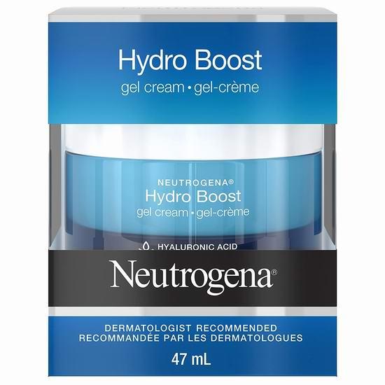 Neutrogena 露得清 长效补水保湿 水活盈透保湿凝露6.1折 12.15加元包邮!秋冬补水必备!