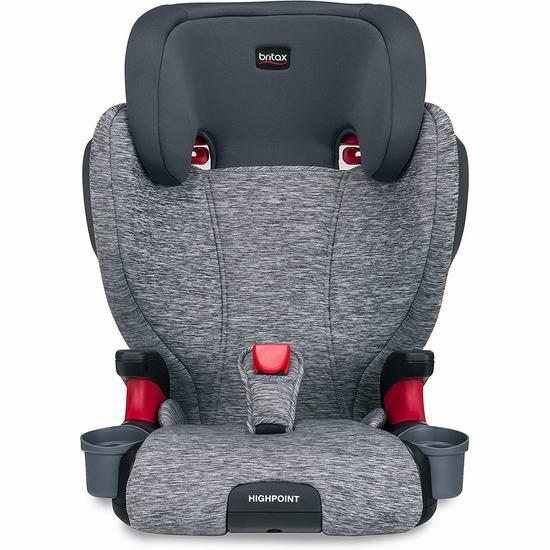 历史最低价!Britax 英国宝得适 Highpoint 儿童安全座椅 186.87加元包邮!
