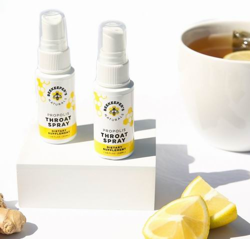 Beekeeper's Naturals 天然蜂胶系列 蜂胶喉咙喷剂、蜂蜜8.5折起