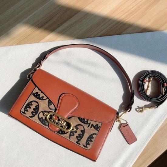 Tabby替代款!Coach Jade 马车标 涂鸦酒神包、小猪包、链条包、钱包2.5折起+额外9折+包邮!