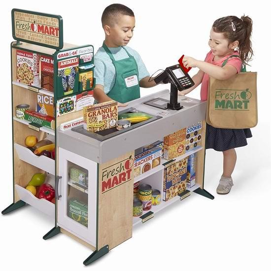 历史新低!Melissa & Doug 过家家 儿童杂货店玩具套装5.3折 142.99加元包邮!