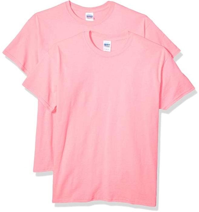 Gildan男士Ultra 纯棉T恤2件套 13.42加元起(3色),原价 16.99加元