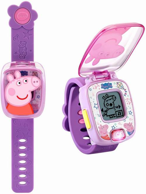 VTech 小猪佩奇学习手表 19.95加元,2色可选