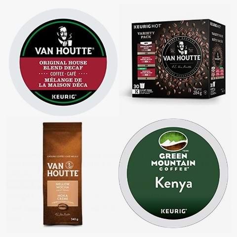 金盒头条:精选 Kraft、Keurig、Van Houtte 等品牌有机咖啡及咖啡胶囊6.2折起!低至4.18加元!