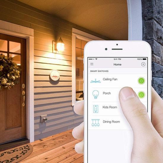 Prime Day专享:精选 Philips、Kasa Smart、ecobee等品牌智能灯泡、插座、开关、门锁、温控器等5折起!