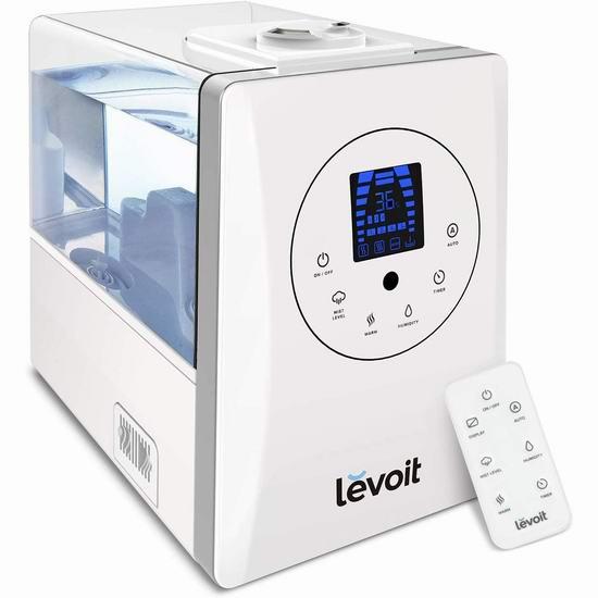 Levoit LV600HH 超声波冷暖雾静音加湿器 84.99加元包邮!
