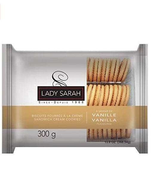 Lady Sarah 三明治饼干 300克 1.61加元