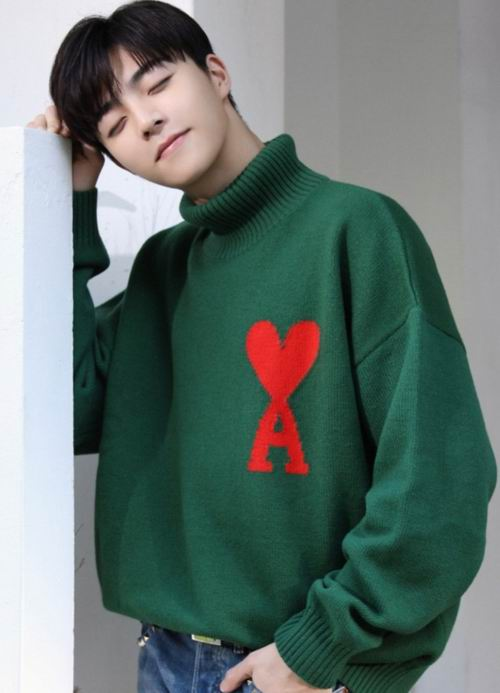 明星达人都爱的品牌!AMI 法国小众品牌 爱心毛衣、T恤、开衫 8.5折