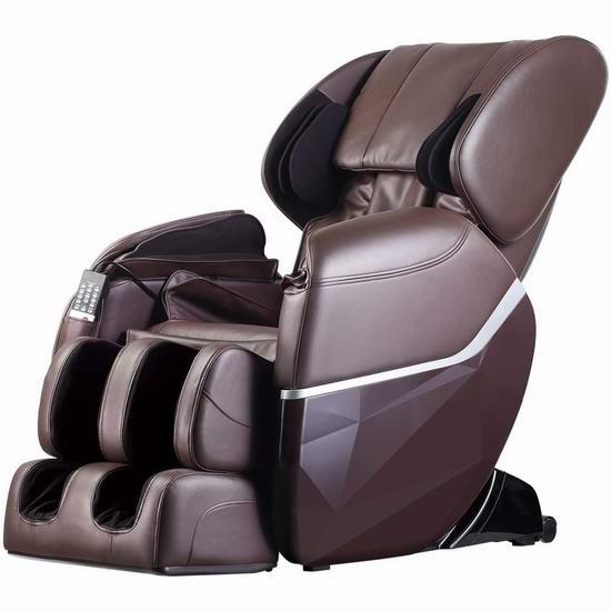 BestMassage EC77 SL导轨 超舒适 零重力按摩椅 1299.99加元包邮!比Costco便宜300加元!