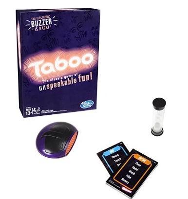 Hasbro Taboo Game游戏 22.46加元,原价 29.99加元
