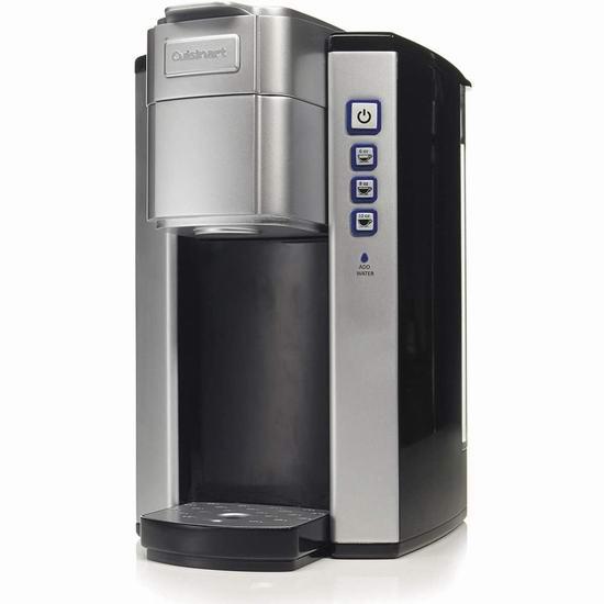 近史低价!Cuisinart 美康雅 SS-5EC 紧凑型不锈钢咖啡机5.3折 80.22加元包邮!