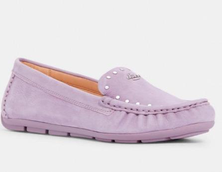 Coach mckenna 香芋紫 开车鞋 78加元,原价 195加元,包邮