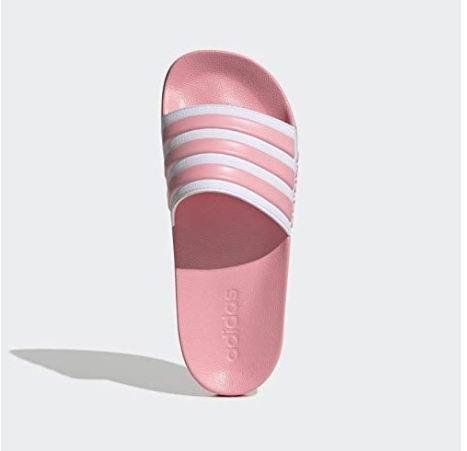 Adidas 女士三条杠拖鞋 28.6加元起,2色可选