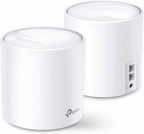 历史最低价!让网速飞起来!TP-Link WiFi 6 Mesh WiFi AX1800 无线路由器2件套 6.1折 199.99加元