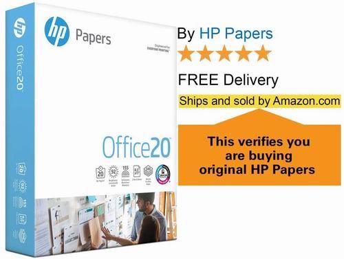 HP 惠普复印打印纸 500张 4.74加元,原价 11.1加元
