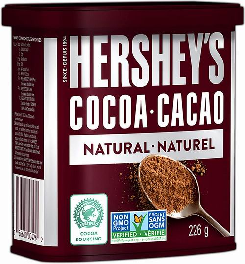 HERSHEY'S 好时纯无糖可可粉 226克 2.67加元,原价 4.47加元