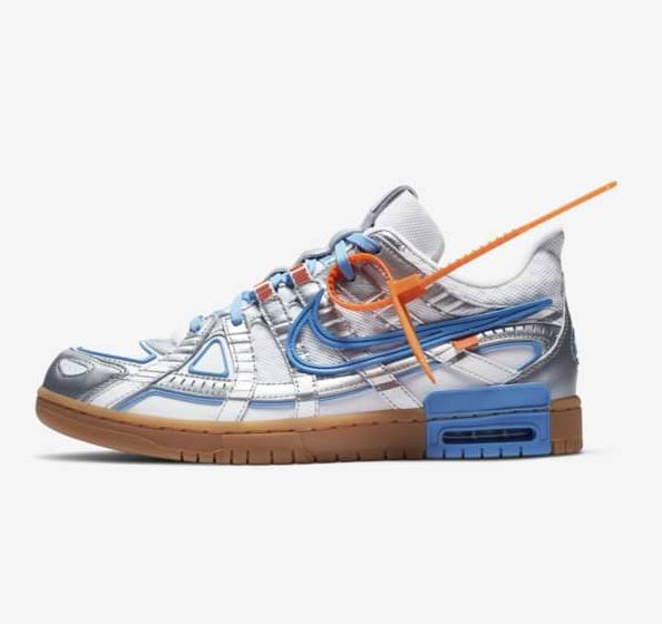Nike Rubber Dunk x Off-White™️ University Blue合作款运动鞋 250加元!10月1日早6点开抢!
