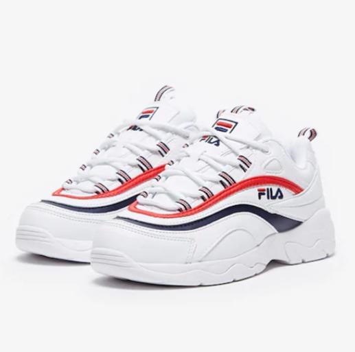 Fila Ray 女士复古老爹鞋 49.1加元(7.5码),原价 100加元,包邮