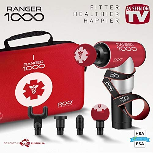 Ranger 1000 深层肌肉放松 筋膜枪/按摩枪3.9折 59加元包邮!