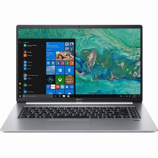 Acer 宏碁 Swift 5 15.6寸超纤薄 触摸屏笔记本电脑(8GB/256GB SSD) 999加元包邮!