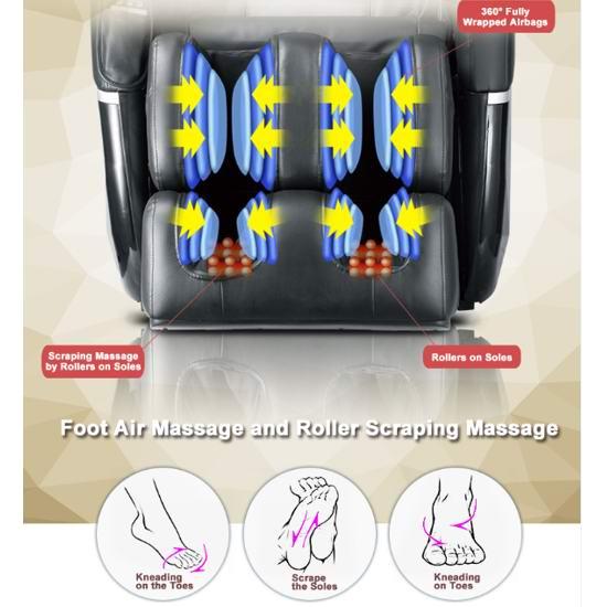 补货!BestMassage EC77 SL导轨 超舒适 零重力按摩椅5.2折 999加元包邮!比Costco便宜600.99加元!