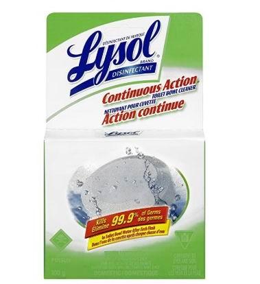 Lysol 马桶清洁剂 3.33加元