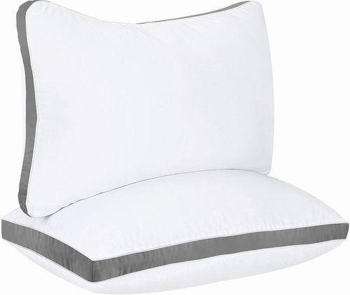 Utopia Bedding 防过敏Queen枕头2件套 7.5折 28.99加元!2色可选!