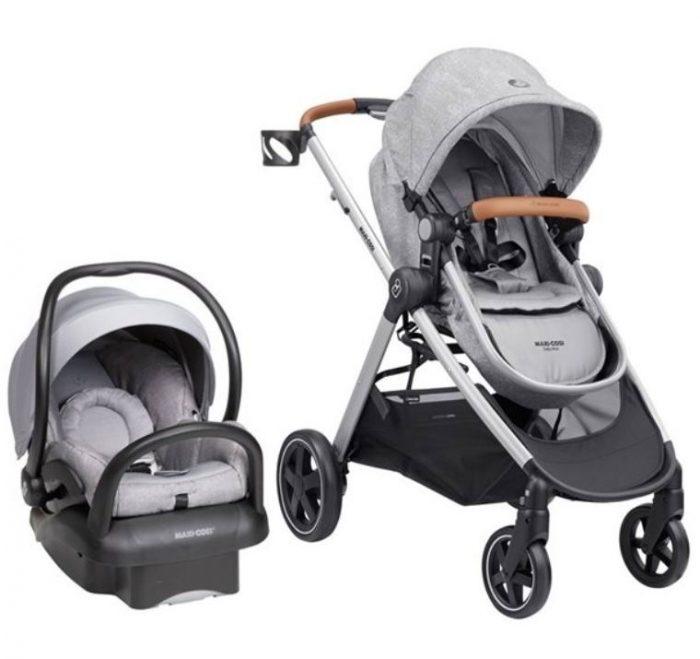 Maxi-Cosi Zelia Max 5合1 婴儿旅行系统 婴儿推车+安全提篮套装 8折 599.99加元