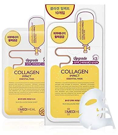 韩国MEDIHEAL美迪惠尔胶原蛋白针剂面膜 10张 20.9加元